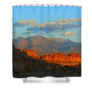 The Ever Changing Beauty Of Monolith Gardens Shower Curtain