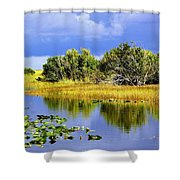 The Everglades Shower Curtain