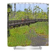 The Everglades Of Texas Shower Curtain
