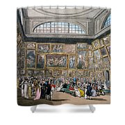 The Exhibition Room At Somerset House Shower Curtain
