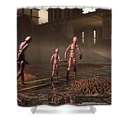 The Exiles Sojourn Shower Curtain