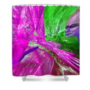 The Explosion Of Longing Shower Curtain