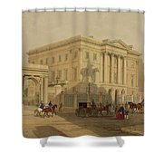 The Exterior Of Apsley House, 1853 Shower Curtain