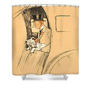 The Extra Passenger Shower Curtain