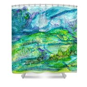 The Eydes Of March Shower Curtain