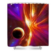 The Eye Of God Shower Curtain
