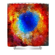 The Eye Of Heaven Shower Curtain