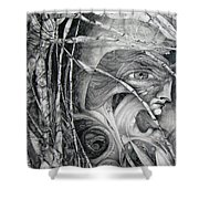 The Eye Of The Fomorii - Regrouping For The Battle Shower Curtain
