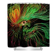 The Eye Of The Medusa Shower Curtain