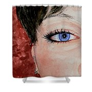 The Eyes Have It - Nicole Shower Curtain
