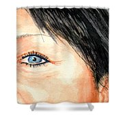 The Eyes Have It - Tami Shower Curtain