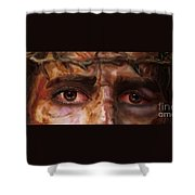 The Eyes Of Eternal Love Shower Curtain