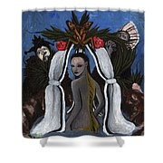 The Fable Of The Fish Shower Curtain
