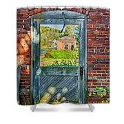 The Factory Door Shower Curtain