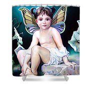The Faerie Princess Shower Curtain