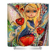 The Fairies Of Zodiac Series - Virgo Shower Curtain