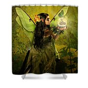 The Fairy Of Clairvoyant Shower Curtain