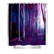 The Fairy Tale Forest Shower Curtain