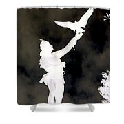 The Falconer Shower Curtain
