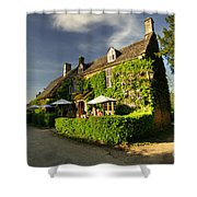 The Falkland Arms  Shower Curtain