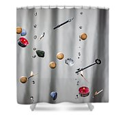 The Five Elements Shower Curtain