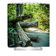 The Fallen Collection 7 Shower Curtain
