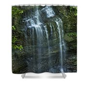 The Falls From Above Shower Curtain