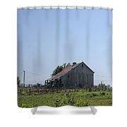 The Family Barn Shower Curtain