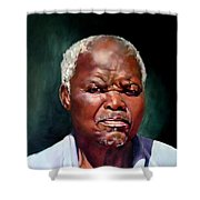 The Family Head Petrus Shower Curtain