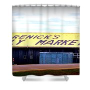 The Family Market Shower Curtain