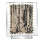 The Family Pose Shower Curtain