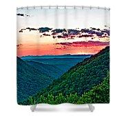 The Far Hills 2 Shower Curtain