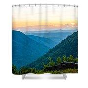 The Far Hills Shower Curtain