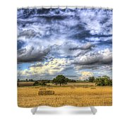 The Farm In The Summertime  Shower Curtain
