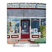 The Farmer's Country Store Shower Curtain