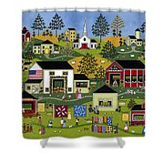 The Farmers Market Shower Curtain