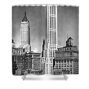 The Farmers Trust Building  Shower Curtain