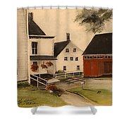 The Farmhouse Shower Curtain