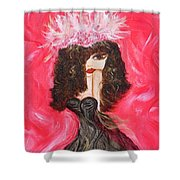 The Fascinator Shower Curtain