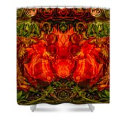 The Fates Shower Curtain by Omaste Witkowski