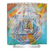 The Fathers House Shower Curtain