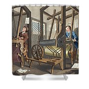The Fellow Prentices At Their Looms Shower Curtain