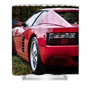 The Ferrari 512 Shower Curtain