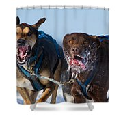 The Final Effort Shower Curtain by Mircea Costina Photography