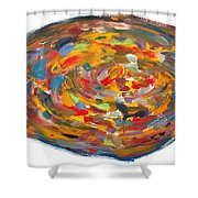 The Fine Art Of Pizza Making Shower Curtain