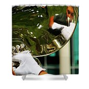 The Finest Tuba The Sweetest Sound Shower Curtain