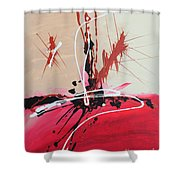 The Fire Within Coming Out Shower Curtain