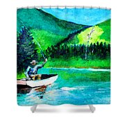 The First Cast Shower Curtain