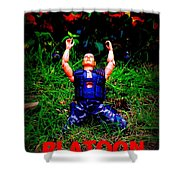 The First Casualty Of War Is Innocence Shower Curtain