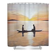 The First Date Shower Curtain